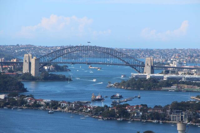 Sydney Harbour scenic helicopter flights flyover