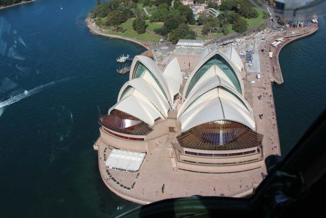 Sydney Opera House helicopter tour