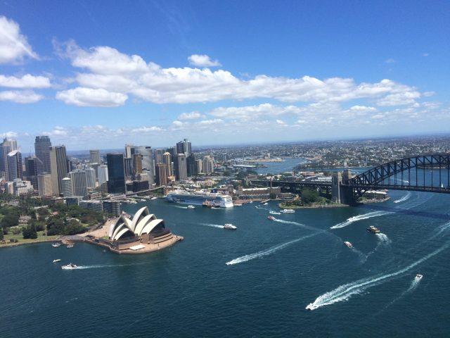 Harbour Bridge, Flight, Opera House, Helicopter, Scenic, Adventure, Gift