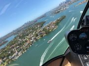 Breathtaking views of Sydney Harbour on your helicopter flight