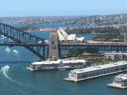 Sydney Harbour's Opera House and Bridge
