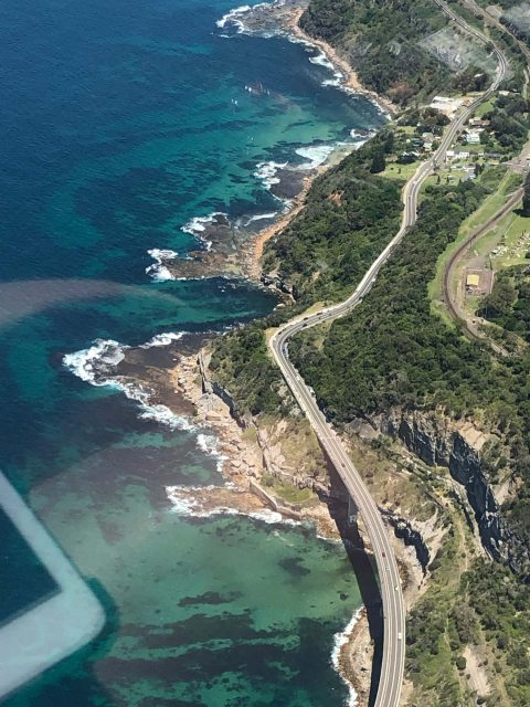 Sydney south coast Sea Cliff Bridge
